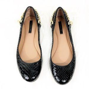 Rachel Zoe Laura Ballet Flats Black  Size 6.5